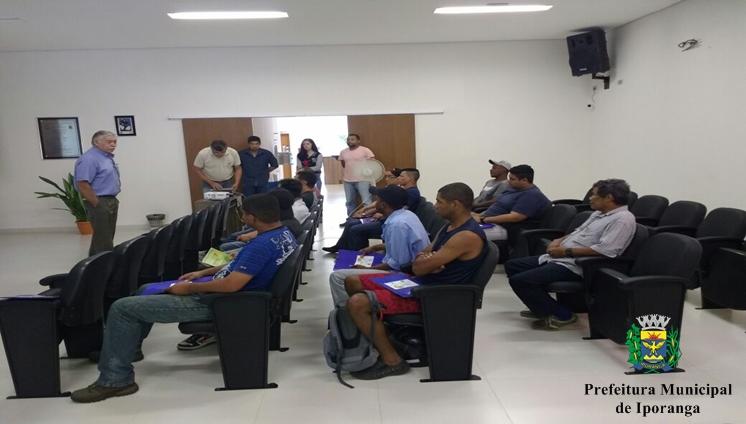 Prefeitura de Iporanga, realiza Curso de Eletricista em parceria com a Senar