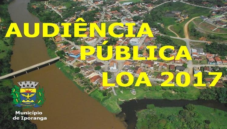 Audiência Pública - Lei Orçamentária Anual para 2017