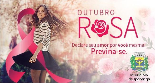 Iporanga em Campanha Outubro Rosa