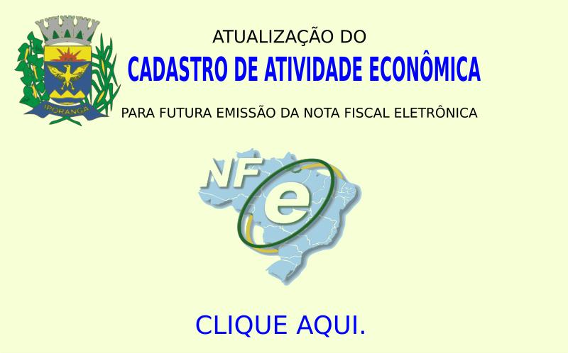 Atualização de Cadastro de Atividade Econômica